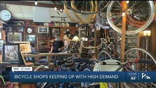 Local bike shop seeing spike in sales amid pandemic