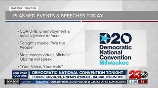 Democratic National Convention starts tonight