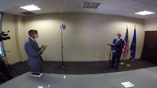 TMJ4 News' Charles Benson has 1-on-1 with Joe Biden