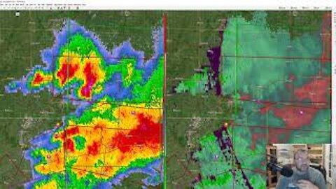 Howto Load View Historical Weather Radar Data into Software   Joplin Tornado 2011