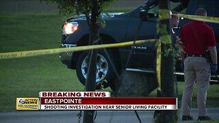 Eastpointe shooting investigation near senior living facility in Eastpointe