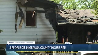 Engaged couple, teen killed in Geauga County house fire