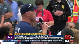 Emergency response town hall provides help for people affected by Ridgecrest earthquakes