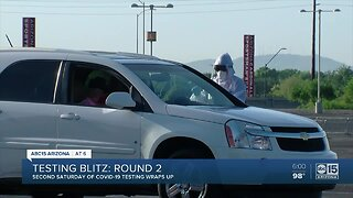Testing blitz continues Saturday, May 9 across Arizona
