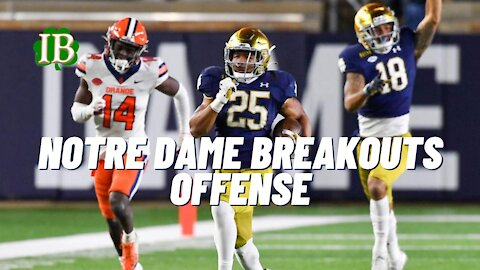 Notre Dame Breakout Players In 2021 - Offense Edition