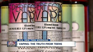 Teens in Western New York discuss the truths about vaping