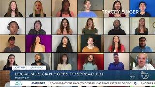 Local musicians hopes to spread joy