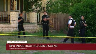 Active police investigation on Ashley Street in Buffalo