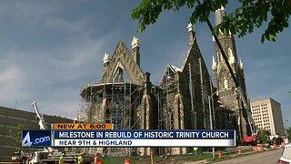 Trinity Lutheran Church takes big step towards restoration