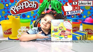 Play Doh I Kitchen Creations I Burger Barbecue Playset