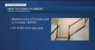 LVR report shows Southern Nevada home prices rising
