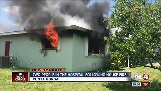 Good samaritan rescues woman from fire