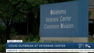 COVID-19 outbreak at Claremore Veterans Center