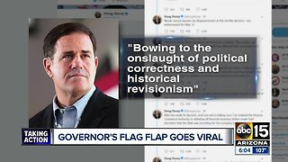 Arizona Governor Doug Ducey yanks Nike grant over flag shoe flap