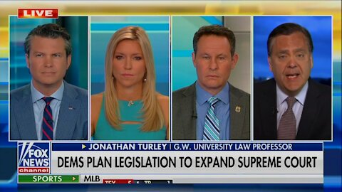 """Turley SLAMS Dem Court Packing Power Grab: """"Raw Muscle Play... Hostile Takeover of the Court"""""""