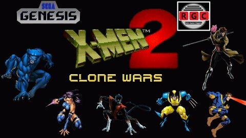 Start to Finish: 'X-Men 2: Clone Wars' gameplay for Sega Genesis