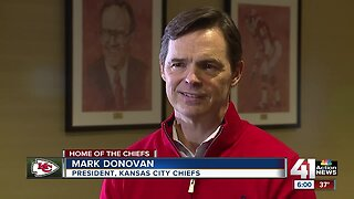 Chiefs president Mark Donovan: 'We're looking forward to making more history'
