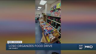 Lee County Sheriff's Office organizes food drive