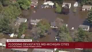 Flood devastates Mid-Michigan cities