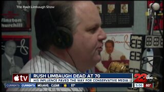 Bakersfield radio hosts react to the death of conservative icon Rush Limbaugh