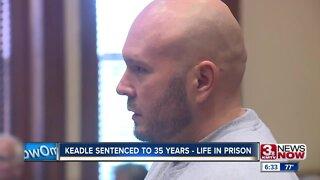 Keadle sentenced to 35 - life in prison