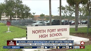 North Fort Myers High School under investigation after officers find written threats in bathroom