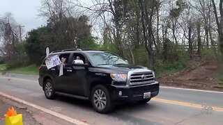 Montgomery Co. girl gets a birthday parade after canceling her party