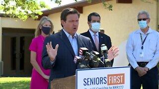 Florida Gov. Ron DeSantis gives COVID-19 update in Sebastian