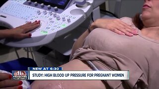 Study: high blood pressure in pregnant women is on the rise