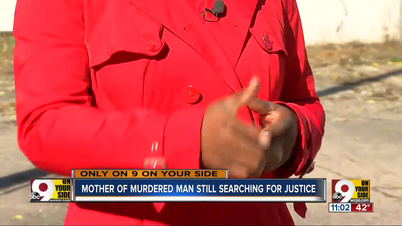 A mother still wants answers to son's murder 4 years later