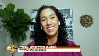 Women hosts powering Airbnb