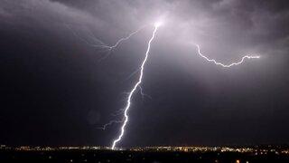 A Texan Is Struck by Lightning