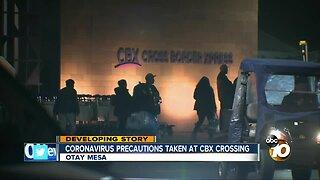 Coronavirus precautions taken at CBX and Tijuana airport