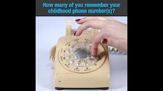 Childhood phone number [GMG Originals]
