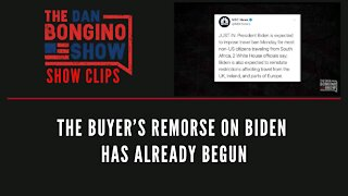 The buyer's remorse on Biden has already begun - Dan Bongino Show Clips