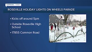 Roseville Holiday Lights on Wheels Parade