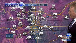 Dry in Denver for now, more mountain snow