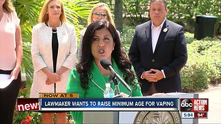State representative files bill to raise legal age for purchasing vaping, tobacco products