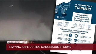 Staying safe during dangerous storms