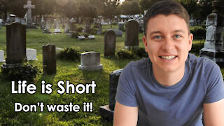Life is Short   Don't Waste Your Life   Mini - Sermon   Don't Waste Time   Christian   Christian Video