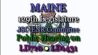 20190418 [Audio] ENR Public Hearing LD710●LD1431