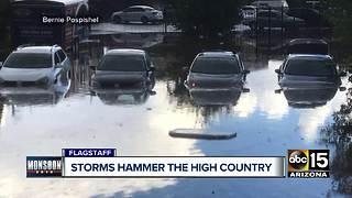 Storms roll through northern Arizona