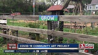 Benson Community Garden hosts art project