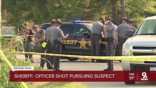 Middletown K9 officer shot while pursuing murder suspect