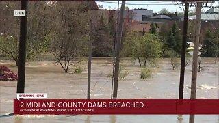 2 Midland County dams breached