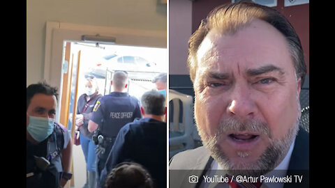 """""""No se atrevan a volver aquí"""": Pastor echó a policías que intentaban detener celebraciones de Pascua"""