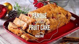 Panqué Style Fruit Cake