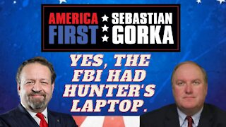 Yes, the FBI had Hunter's laptop. John Solomon with Sebastian Gorka on AMERICA First