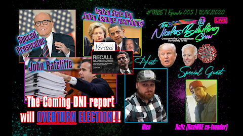 Conservative Podcast   The Nicolas Bowling Show 005