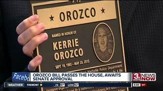 Kerrie Orozco bill passes in U.S. House
